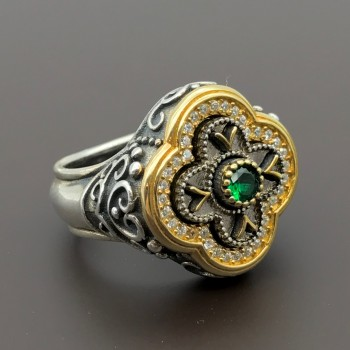 Βυζαντινό χειροποίητο δαχτυλίδι
