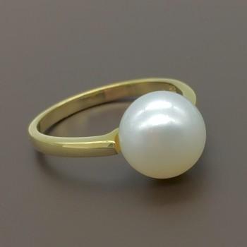 Χρυσλο δαχτυλίδι με μαργαρίτάρι