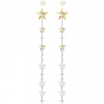 Swarovski History Pierced Earrings, Multi-colored 5299873