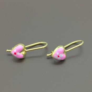 Χρυσά παιδικά σκουλαρίκια