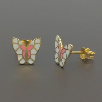 Σκουλαρίκια πεταλούδες