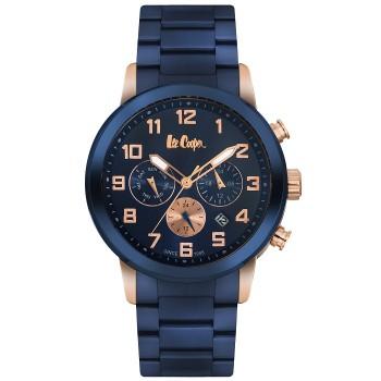 Lee Cooper Multifunction Blue Metal Bracelet LC06219.490