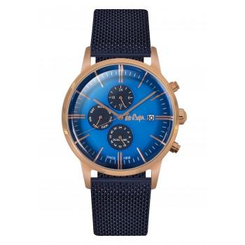 Lee Cooper Multifunction Blue Metal Bracelet LC06269.490