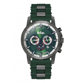 Lee Cooper Multifunction Green Rubber Strap LC06309.075