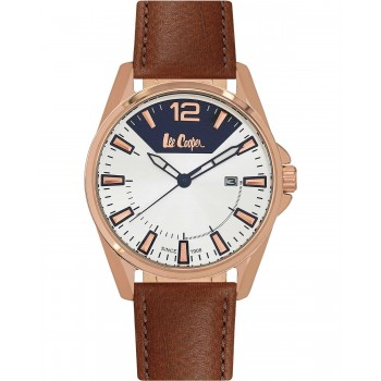 Lee Cooper Brown Leather Strap LC06438.435