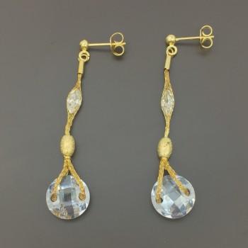 Χρυσά σκουλαρίκια 18Κ