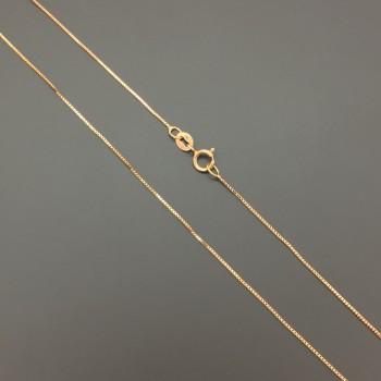Αλυσίδα ρόζ χρυσό 14Κ