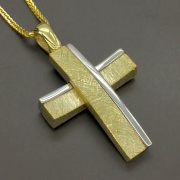 Χρυσός σταυρός 14Κ