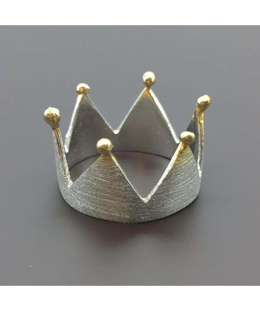 Ασημένιο δαχτυλίδι κορώνα dc9fe270e3e