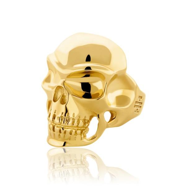 Δαχτυλίδι skull HONOR