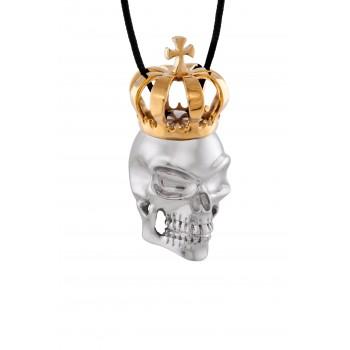 Κολιέ skull HONOR