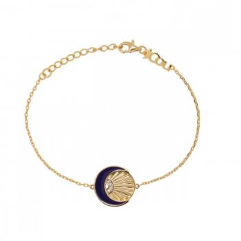 JCou Sun & Moon, Μπλε,  JW901G2-01 JCOU βραχιόλια, κοσμήματα, ποικιλία σχεδίων, τιμές