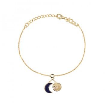 JCou Sun & Moon, Μπλε,  JW901G2-02  JCOU βραχιόλια, κοσμήματα, ποικιλία σχεδίων, τιμές