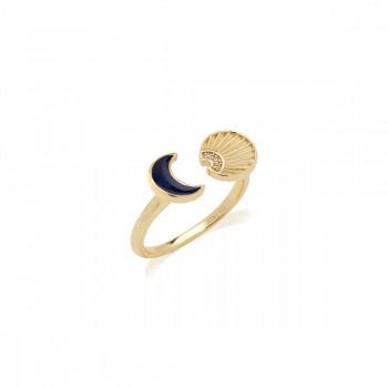 JCou Sun & Moon, Μπλε, JW901G0-01 JCOU δαχτυλίδια, κοσμήματα, ποικιλία σχεδίων, τιμές