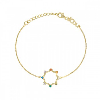 JCou Rainbow, Πολύχρωμο, JW902G2-01  JCOU βραχιόλια, κοσμήματα, ποικιλία σχεδίων, τιμές