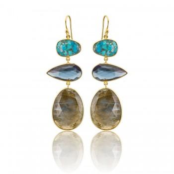 Σκουλαρίκια Li-LA-LO Iris, SAS006961 σκουλαρίκια Li-LA-LO, κοσμήματα, ποικιλία σχεδίων,τιμές