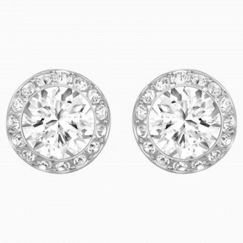 Swarovski Angelic, Λευκά, Επιροδιωμένα, 1081942 κοσμήματα σκουλαρίκια Swarovski, τιμές, ποικιλία σχεδίων, προσφορές