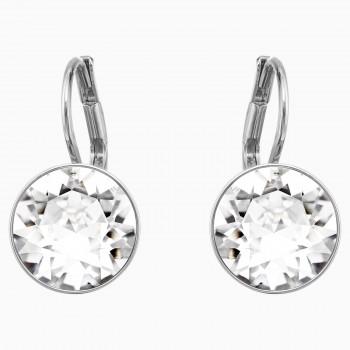Swarovski Bella Mini, Λευκά, Επιροδιωμένα, 5085608 κοσμήματα σκουλαρίκια Swarovski, τιμές, ποικιλία σχεδίων, προσφορές