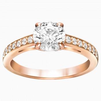Swarovski Attract Round, Λευκό, 5184217 δαχτυλίδι Swarovski, ποικιλία σχεδίων, τιμές, προσφορές