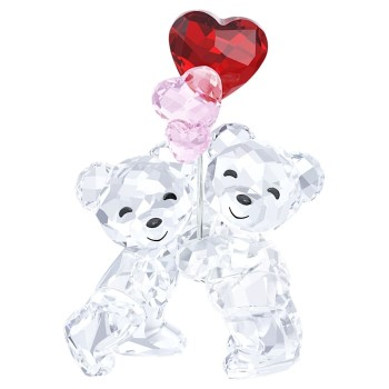 Swarovski Kris Bear - Heart Balloons, 5185778 Swarovski figurines, ποικιλία σχεδίων, τιμές, προσφορές
