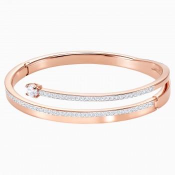 Swarovski Facet Swan, Πολύχρωμο, Φινίρισμα μικτών μετάλλων, 5217727 κοσμήματα, βραχιόλι Swarovski , τιμές, ποικιλία σχεδίων, προσφορές