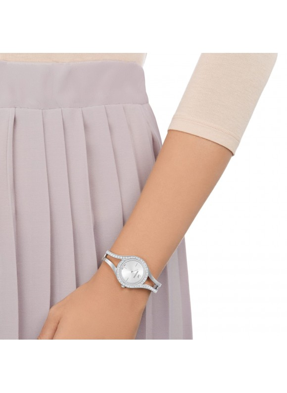 Swarovski Eternal , Metal bracelet, White, Stainless steel, 5377545 ρολόι SWAROVSKI, τιμές, ποικιλία σχεδίων, προσφορές