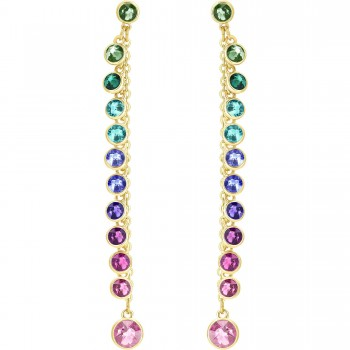 Swarovski Attract Pierced Earrings, Multi-colored 5402030