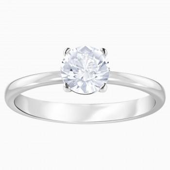 Swarovski Attract, Λευκό, Επιροδιωμένο, 5412078  δαχτυλίδι Swarovski, ποικιλία σχεδίων, τιμές, προσφορές