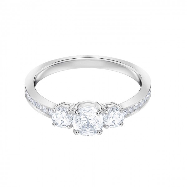 Swarovski Attract Trilogy Ring Round 5414972