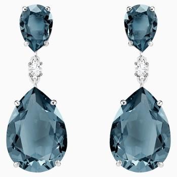 Swarovski Vintage Drop Pierced Earrings, Teal, 5424362 κοσμήματα, σκουλαρίκια Swarovski, τιμές, ποικιλία σχεδίων, προσφορές