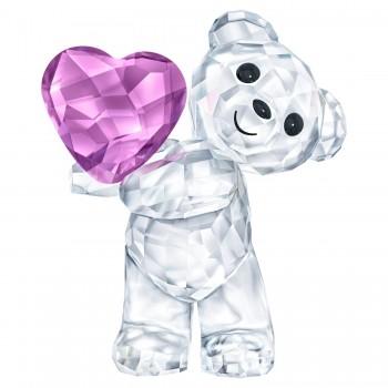 Swarovski Kris Bear Take My Heart Figurine, 5427995 μπιμπελό SWAROVSKI, τιμές, ποικιλία σχεδίων, προσφορές