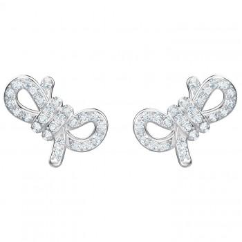 Swarovski Lifelong Bow Pierced Earrings Small 5447080