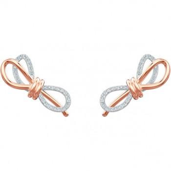 Swarovski Lifelong Bow Pierced Earrings Dress 5447089