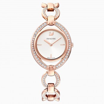 Swarovski Stella, Metallic Bracelet, Rose-Gold, Stainless Steel, 5470415 ρολόι SWAROVSKI, τιμές, ποικιλία σχεδίων, προσφορές