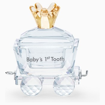 Swarovski Baby's 1st Tooth Wagon, 5492218 Swarovski figurines, ποικιλία σχεδίων, τιμές, προσφορές