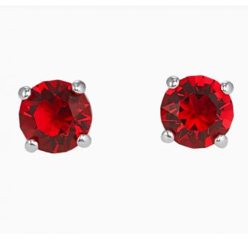 Swarovski Attract Stud Pierced Earrings, Red, 5493979 κοσμήματα, σκουλαρίκια Swarovski, τιμές, ποικιλία σχεδίων, προσφορές