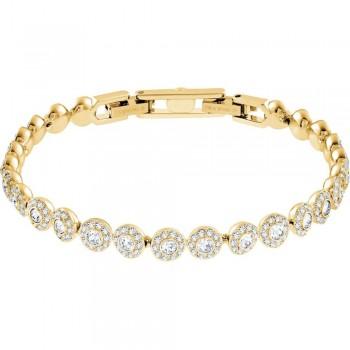 Swarovski Angelic, Λευκό, Επιχρυσωμένο, 5505469 κοσμήματα, βραχιόλι Swarovski , τιμές, ποικιλία σχεδίων, προσφορές