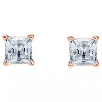 Swarovski Attract, Λευκά, Επιχρυσωμένα σε Ροζ Χρυσαφί απόχρωση, 5509935, κοσμήματα σκουλαρίκια Swarovski, τιμές, ποικιλία σχεδίων, προσφορές