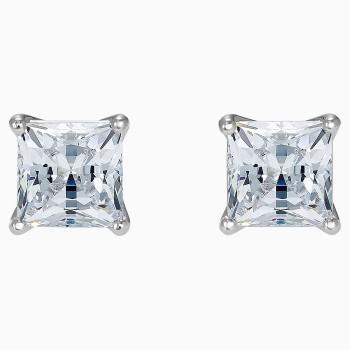 Swarovski Attract Pierced Earrings, White, 5509936 κοσμήματα, σκουλαρίκια Swarovski, τιμές, ποικιλία σχεδίων, προσφορές