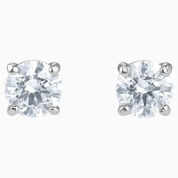 Swarovski Attract Stud Pierced Earrings, White, 5509937 κοσμήματα σκουλαρίκια Swarovski, τιμές, ποικιλία σχεδίων, προσφορές