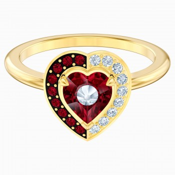 Swarovski Black Baroque Motif, Κόκκινο, Επιχρυσωμένο, 5513246 δαχτυλίδι Swarovski, ποικιλία σχεδίων, τιμές, προσφορές