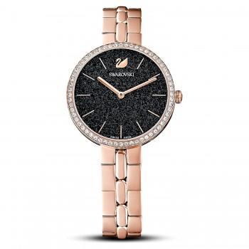 Swarovski Cosmopolitan, Metal bracelet, Black, 5517797 ρολόι SWAROVSKI, τιμές, ποικιλία σχεδίων, προσφορές