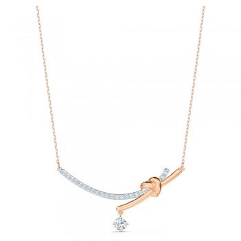 Swarovski Lifelong Heart, Λευκό, Φινίρισμα Μικτού Μετάλλου, 5517951