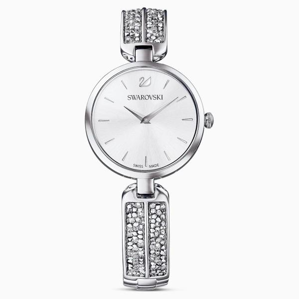 Swarovski Dream Rock, Metallic Bracelet, Silver, Stainless Steel, 5519309 ρολόι SWAROVSKI, τιμές, ποικιλία σχεδίων, προσφορές