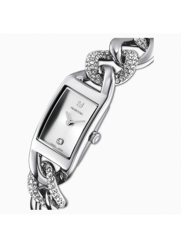 Swarovski Cocktail, Metallic Bracelet, Silver, Stainless Steel, 5519330 ρολόι SWAROVSKI, τιμές, ποικιλία σχεδίων, προσφορές