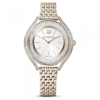 Swarovski Crystalline Aura, Metallic Bracelet, White, Stainless Steel, 5519456 ρολόι SWAROVSKI, τιμές, ποικιλία σχεδίων, προσφορές