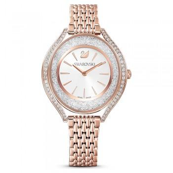 Swarovski Crystalline Aura, Metallic Bracelet, White, Stainless Steel, 5519459 ρολόι SWAROVSKI, τιμές, ποικιλία σχεδίων, προσφορές
