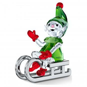 Swarovski Santa's Elf on Sleigh, 5533947 μπιμπελό SWAROVSKI, τιμές, ποικιλία σχεδίων, προσφορές