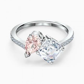 Swarovski Attract Soul, Ροζ, Επιροδιωμένο, 5514541 δαχτυλίδι Swarovski, ποικιλία σχεδίων, τιμές, προσφορές