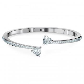 Swarovski Attract Soul Heart, Λευκό, Επιροδιωμένο, 5535354 κοσμήματα, βραχιόλι Swarovski , τιμές, ποικιλία σχεδίων, προσφορές